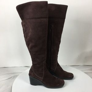 Bandolino Women's Knee High Brown Boots Size 8M